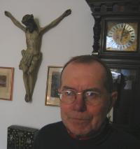 Rostislav Valušek during the recording in 2008