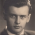 A graduation photography of Jaroslav Běla from 1947