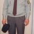 František Vejvoda in a Scout uniform