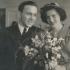 Marriage of Eduard and Stanislava Císař; January 21st 1950