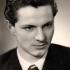 Vladimír Dvořáček, high school graduation photograph. 1955