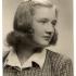 Photograph of Miroslava Malecká-Svobodová from the second half of the 1930's.