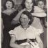 "Eva Hoskovcová, amateur theatre group Na nádraží, play ""Mrs. Fashion Reigns for Ages"", circa 1954-55"