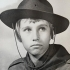 Martin Dvořák as a Scout boy, 1968