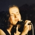 Michaela Antalíková at the concert of Midnight in 1990