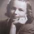 Oluša Jágrová (née Bláhová) as a young woman