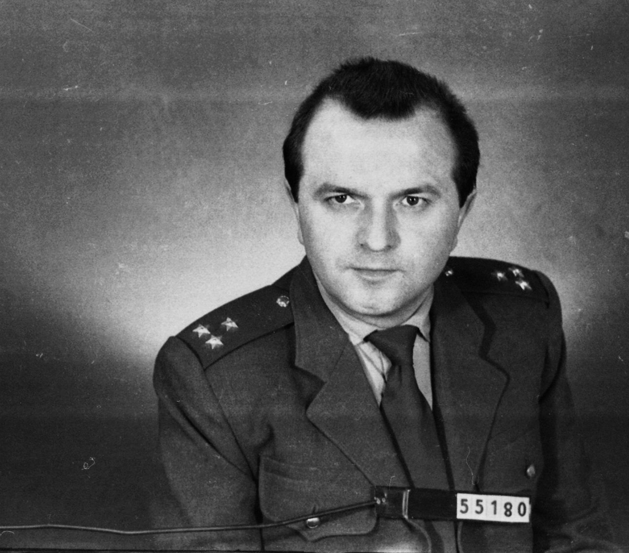 Major StB Vratislav Herold in the 1960s